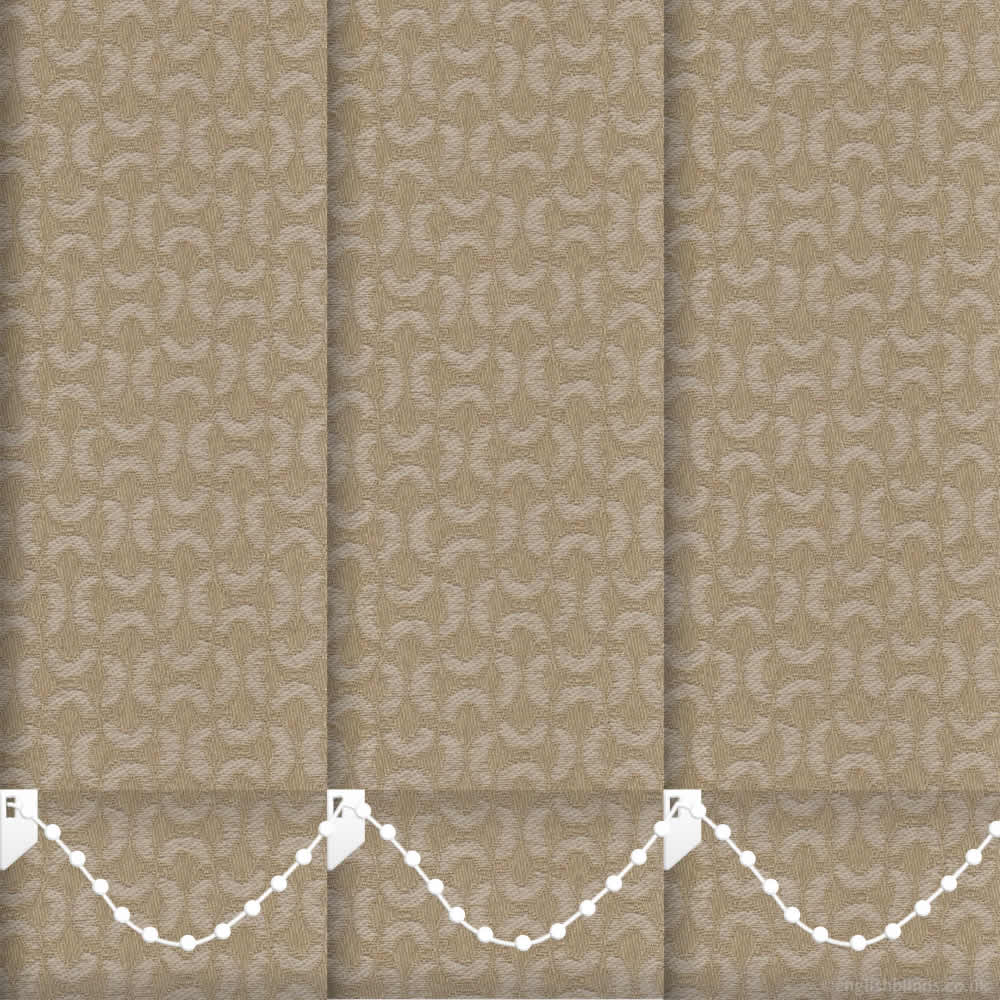 xanadu sinopia vertical blinds made to measure english. Black Bedroom Furniture Sets. Home Design Ideas
