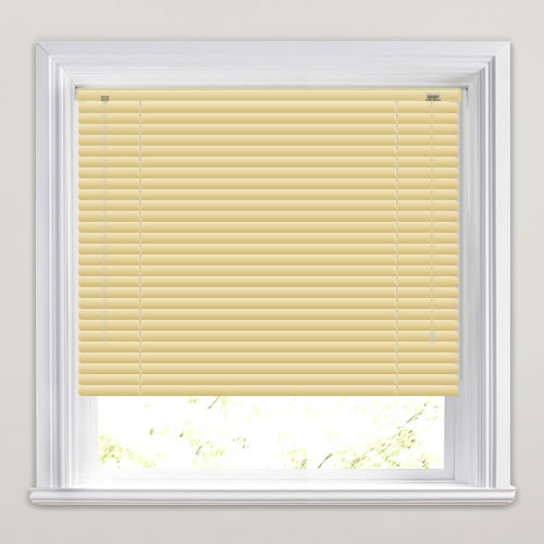 25mm Electric Gold Venetian Blind