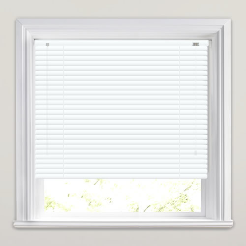 25mm Matt White Venetian Blind