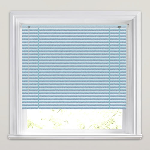 25mm Blue Hammered Venetian Blind