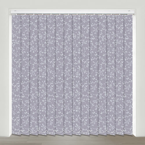 Kina Mulberry Vertical Blind