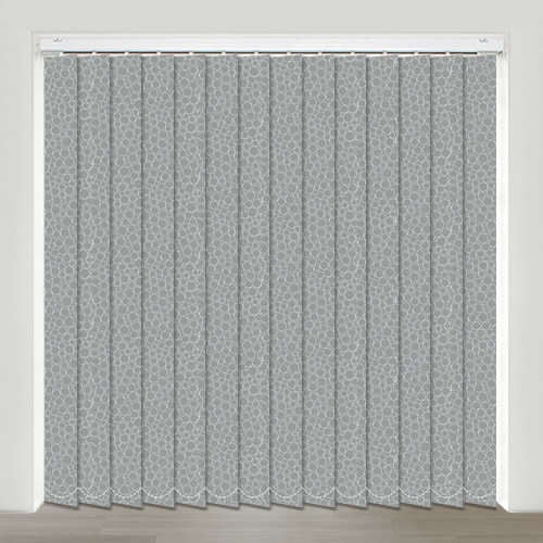 Illusion Ash Vertical Blind