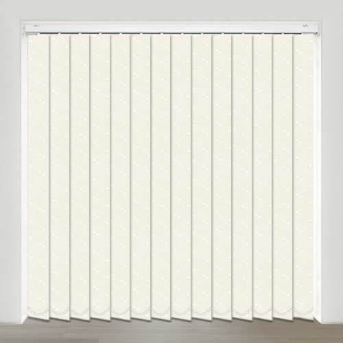 Mayfair White Vertical Blind