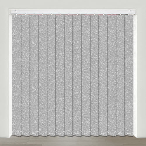 Scrapple Dapple Grey Vertical Blinds Made To Measure