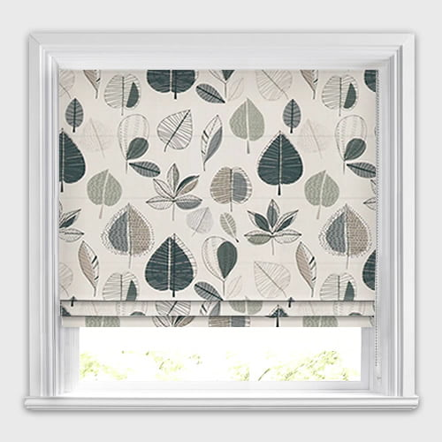 Maple Linen Roman Blind