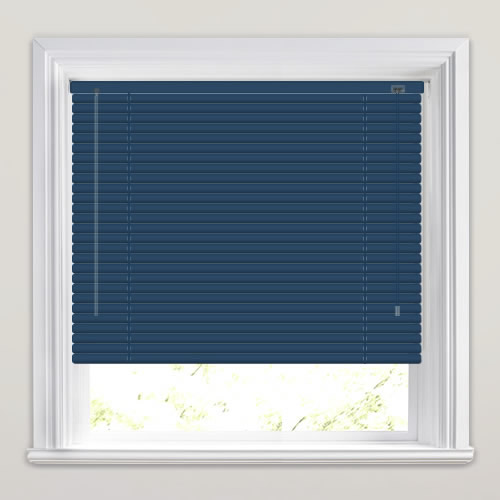 25mm Navy Venetian Blind