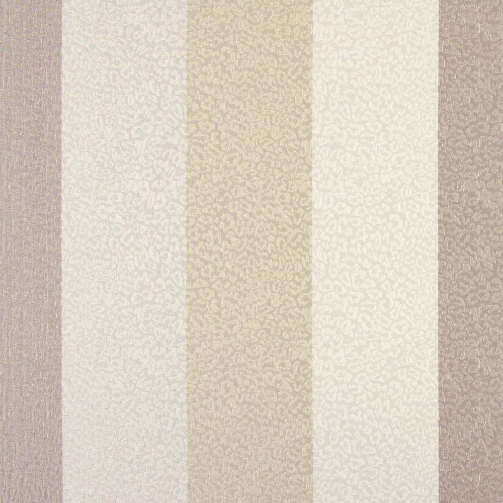 Shimmering Textured Taupe Linen Amp Cream Striped Roman Blinds