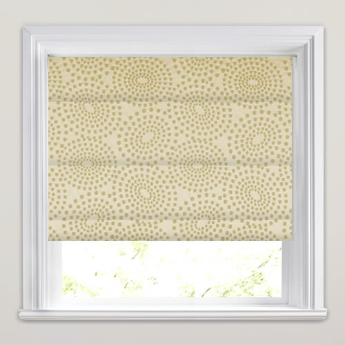 Sodium Citron Roman Blind