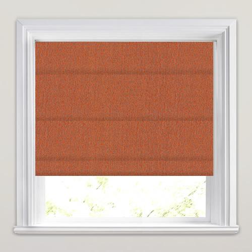 Vibrant Orange Textured Amp Embossed Animal Print Inspired