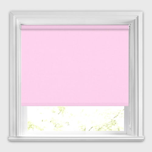 blinds classic blind factory pink concourse with braid colonial roller