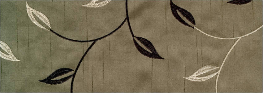 Allure Mocha Curtains