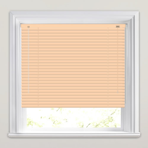 25mm Peach Venetian Blind