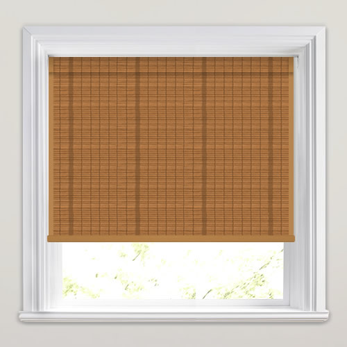 Antigua Pine Woven Wood Blind