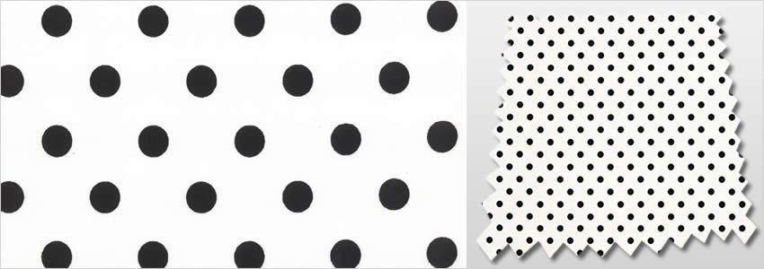 Dotty Graphite Curtains