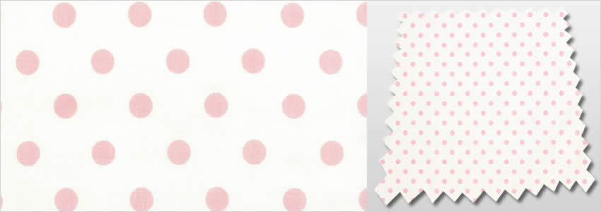 Dotty Rose Curtains