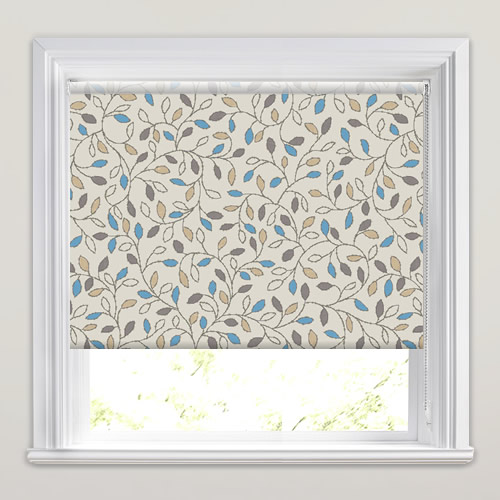Amee China Blue Roller Blind