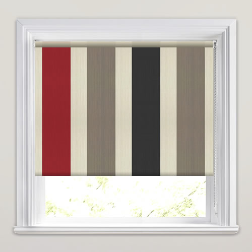 Hampton Crimson Roller Blind