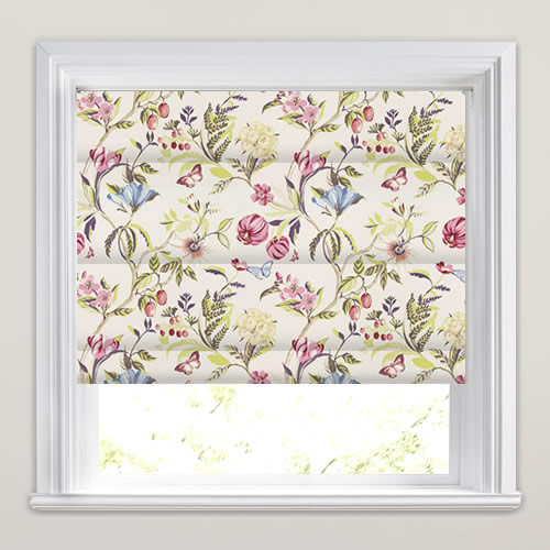 Botanica Pomegranate Roman Blind