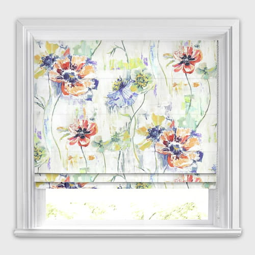 Poppy Fresco Roman Blind