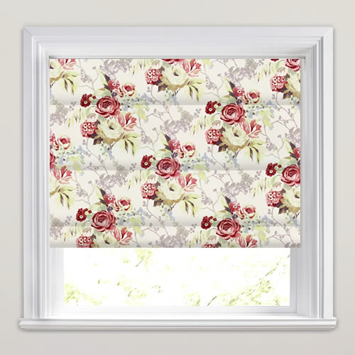 Indonesia Pomegranate Roman Blind