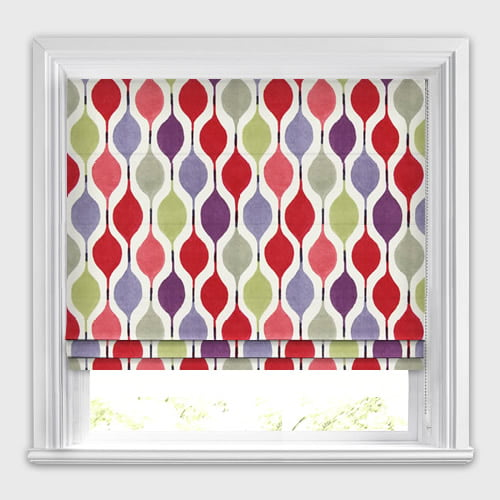 Verve Berry Roman Blind