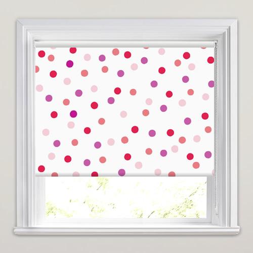 bubbles pink roller blind. Black Bedroom Furniture Sets. Home Design Ideas