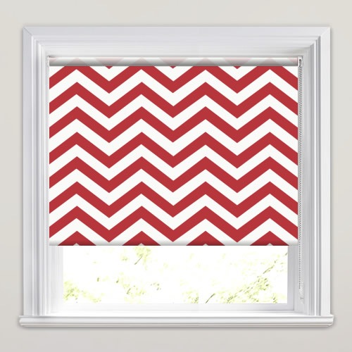 Chevron Chic Lava Roller Blinds Made To Measure