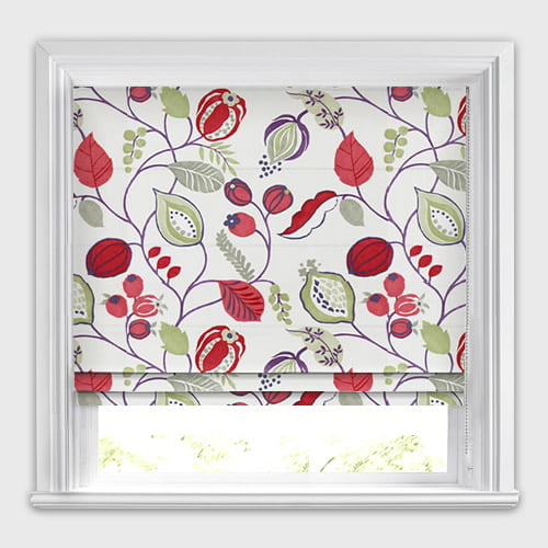 Zest Berry Roman Blind