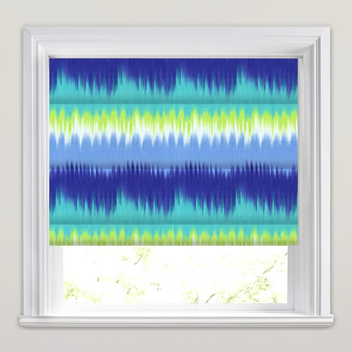Blue Lime Green Amp Turquoise Tie Dye Inspired Printed