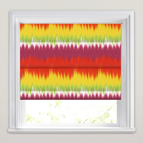 Malibu Tropical Roman Blind