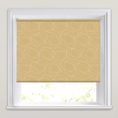 Squiggle Dune Roller Blind