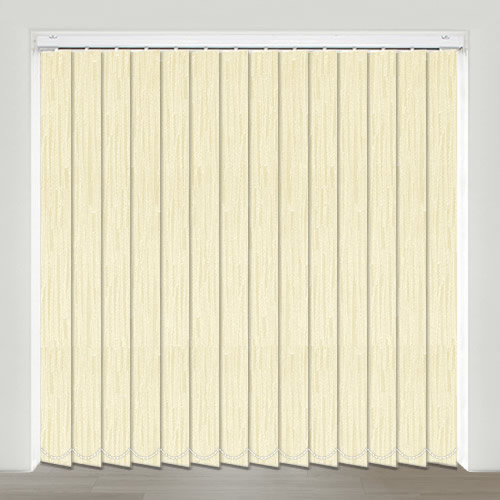 Kaseko Cream Vertical Blind
