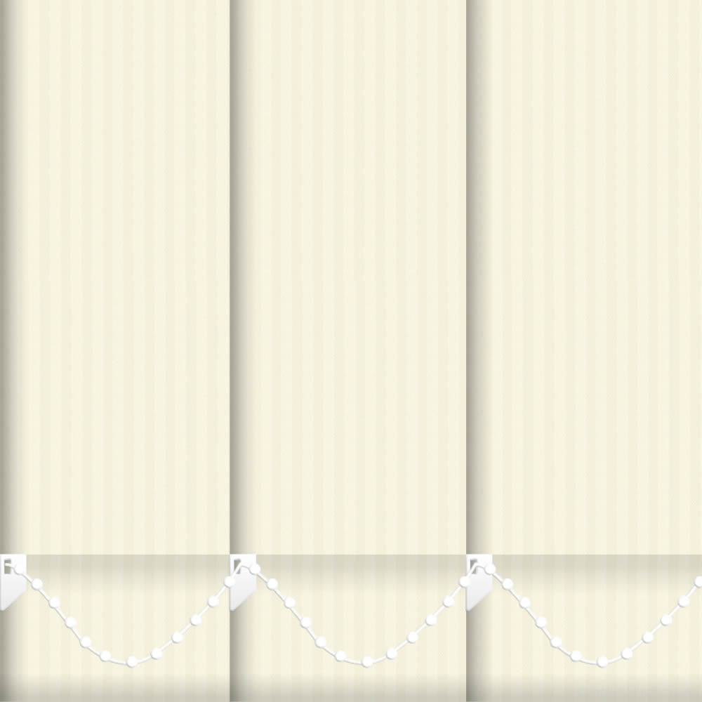 faria creme vertical blinds made to measure english blinds. Black Bedroom Furniture Sets. Home Design Ideas