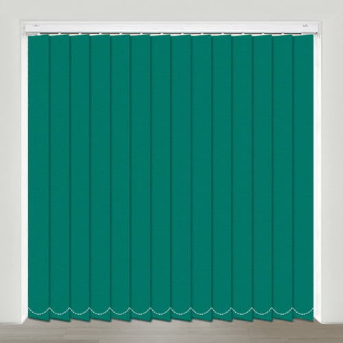 Mono FR Emerald Vertical Blind