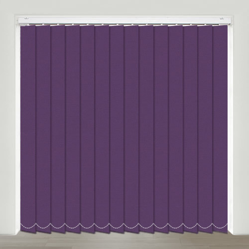 Mono FR Purple Vertical Blind