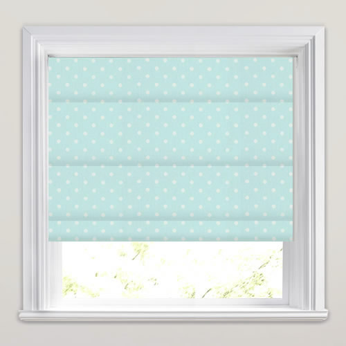 Nancy Duck Egg Roman Blind