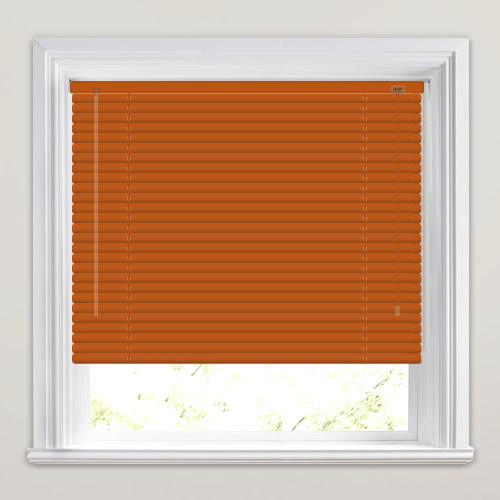 25mm Vermillion Venetian Blind