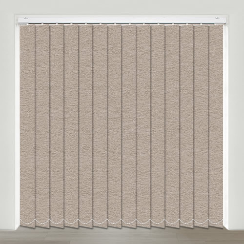 Chagford Chocolate Vertical Blind