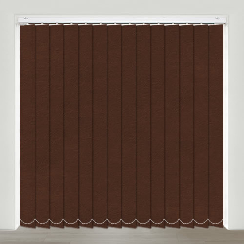 Nubuck Saddle Vertical Blind
