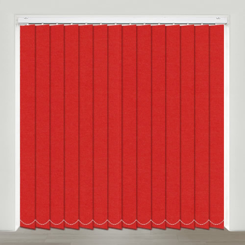 Sweet Dreams Scarlet Vertical Blind