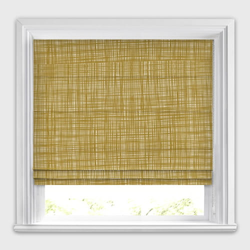 Scribble Olive Orla Kiely Roman Blinds Made To Measure