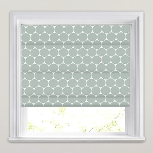 Eaton Cornflower Blue Roman Blind