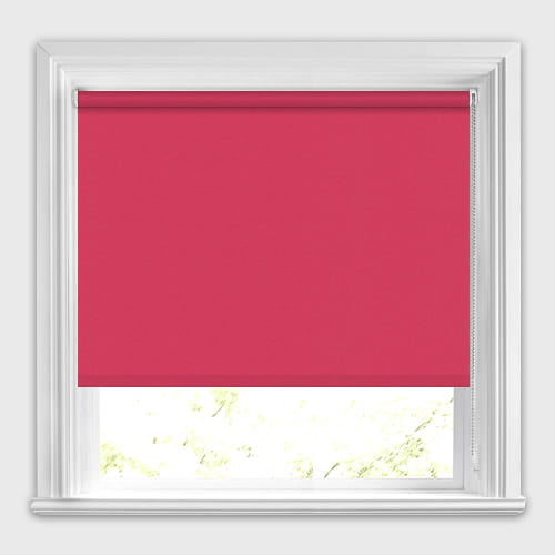 Bright Shocking Pink Blackout Roller Blinds Made To Measure