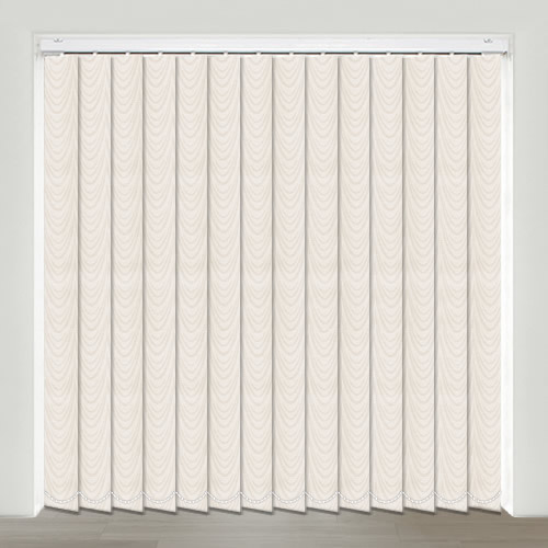Delmar Cream Vertical Blind