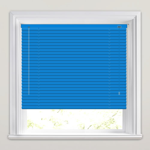 Sky Blue Venetian Made To Measure Window Blinds