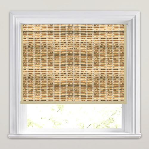Dominica Natural Woven Wood Blind