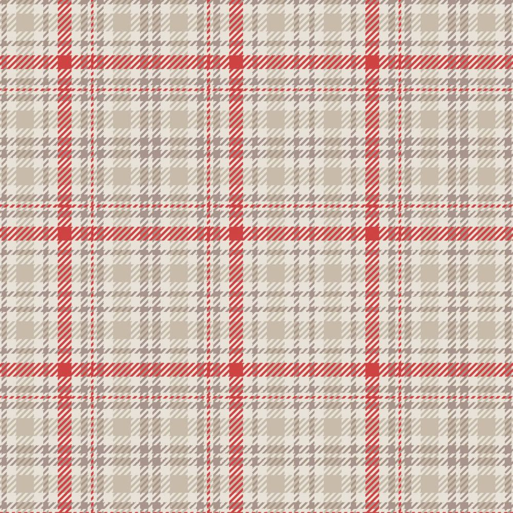 Tartan Wallace Red Zoom