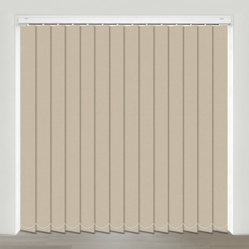 Mono FR Taupe Vertical Blind