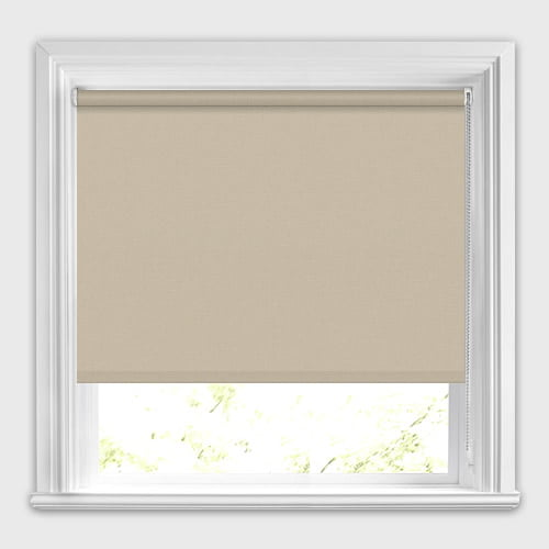 Mono FR Taupe Roller Blind