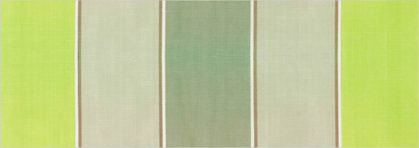Designer Striped Curtains Taupe Stone Vibrant Olive Green Stripes